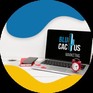 BluCactus - comutadora con alarma y despertador