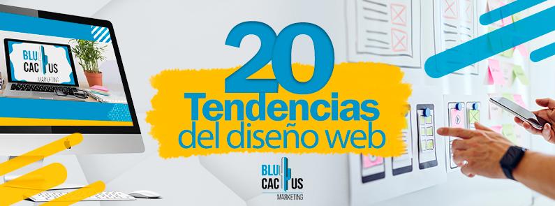 BluCactus - 20 tendencias de diseño web - titulo