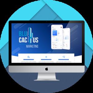BluCactus - profundidad del diseño con superposicion
