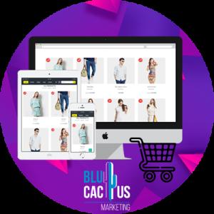 BluCactus - efecto dinamico de promocion