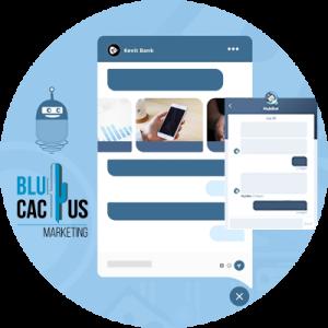 BluCactus - 20 Tendencias del Diseño Web - ejemplos de chatbots