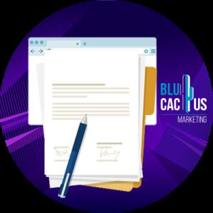 BluCactus - 20 Tendencias del Diseño Web - ejemplo de reglamento legal de proteccion