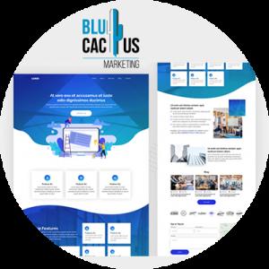 BluCactus - contenido de desplazamiento vertical