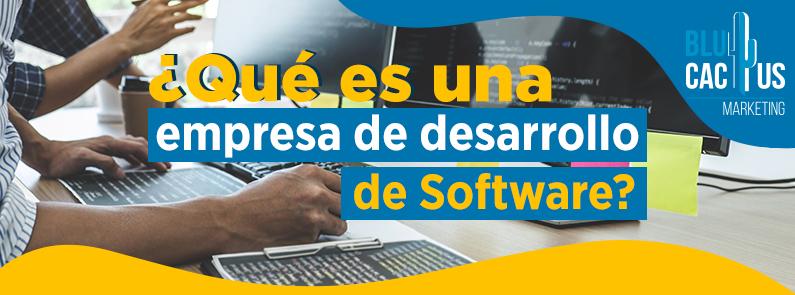 BluCactus - ¿Qué es una Empresa de Desarrollo de Software? - titulo
