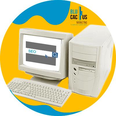 BluCactus - La Historia del SEO - computadora vieja