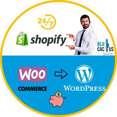BluCactus - WooCommerce o Shopify - hombre profesional pensativo y trabajando