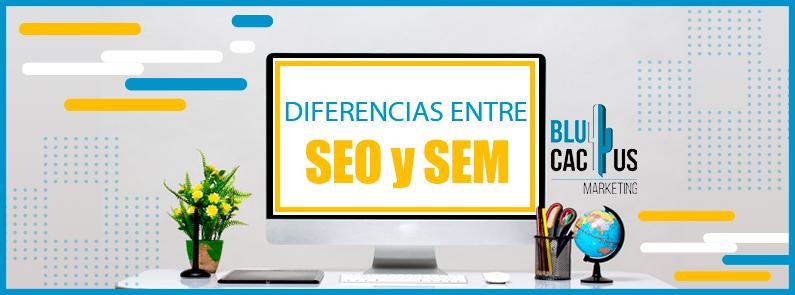 BluCactus - Diferencias entre SEO y SEM - TITULO