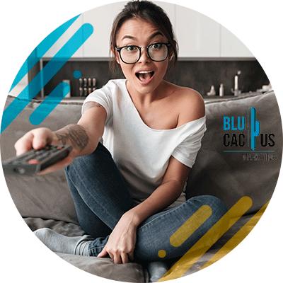 BluCactus - mujer profesional sorprendida