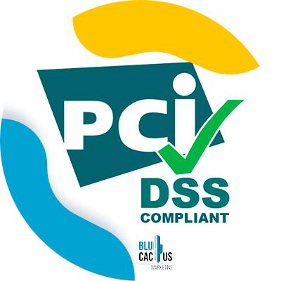 BluCactus - logo de pci dss compliant