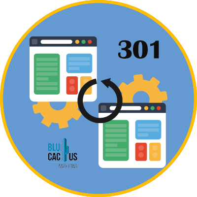 BluCactus - 301 redirects to sell traffic