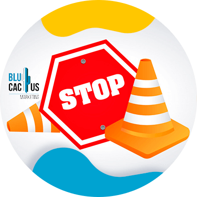 BluCactus - signo de cuidado rojo