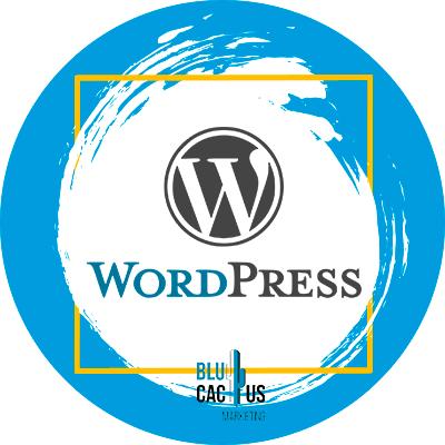 BluCactus - logo de wordpress