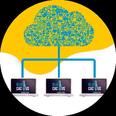 BluCactus - Hosting Web - computadora conectada al Internet