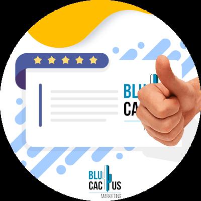 BluCactus - logo de agencia de mercadotecnia