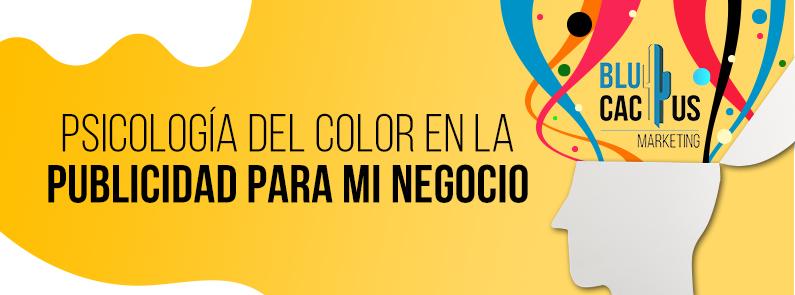 BluCactus - Psicología del color en la Publicidad para mi Negocio - titulo