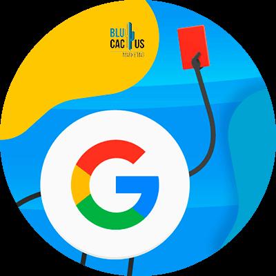 BluCactus - 39 preguntas que debes hacer antes de contratar una agencia de SEO - logo de google