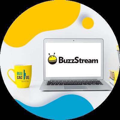 BluCactus - Hoe goed is uw team voorbereid op het beheer van sociale media?EO - computadora con la pantalla y una marca mostrandose