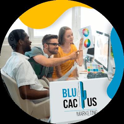 BluCactus - Psicología del color en la Publicidad para mi Negocio - personas trabajando juntos