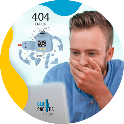BluCactus - 39 preguntas que debes hacer antes de contratar una agencia de SEO - persona profesional trabajando
