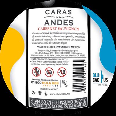 BluCactus - Cómo diseñar una etiqueta para vino - Etiqueta de vino color blanco