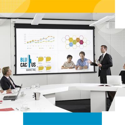 BluCactus - Tipos de Presentaciones para Captar Clientes - personas profesionales reunidas en una platica