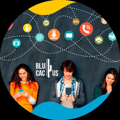 BluCactus - ASO VS SEO - personas trabajando en equipo