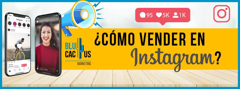 BluCactus - vender en Instagram- titulo
