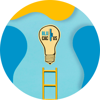 BluCactus - Objetivos en su empresa- foco con luz