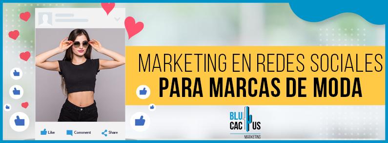 BluCactus - Marketing en redes sociales para marcas de moda - titulo