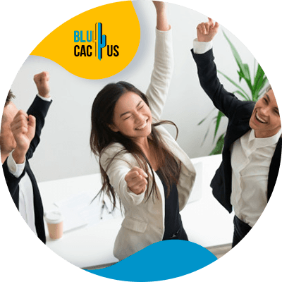 BluCactus - Objetivos en su empresa- personas trabajando en equipo