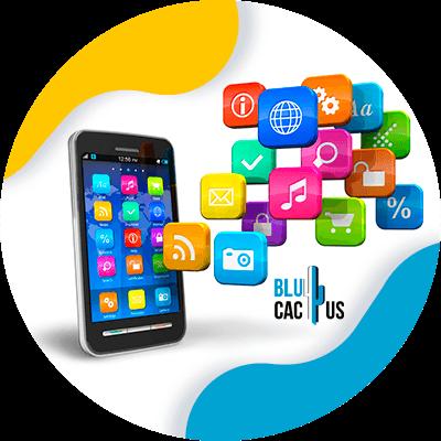 BluCactus - titulo de aplicacion