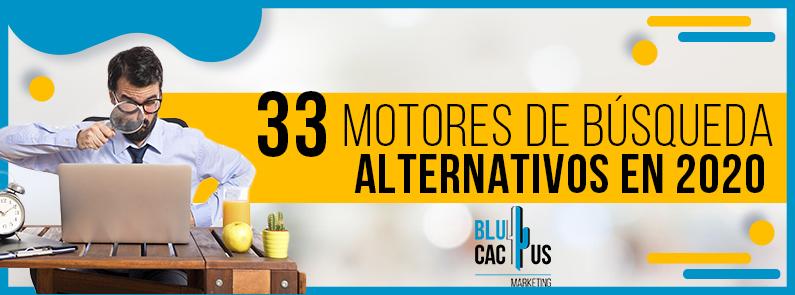 BluCactus - Motores de busqueda alternativos - titulo