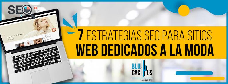BluCactus - Estrategias SEO para sitios web dedicados a la moda - titulo