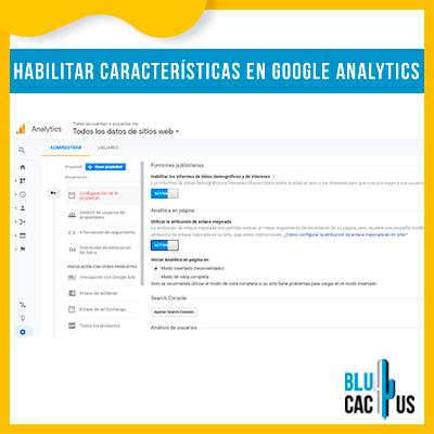 BluCactus - ¿Cómo Configurar Google Analytics? - ejemplo de como funciona google analytics