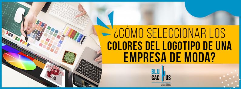 BluCactus - logo de una empresa de moda - titulo