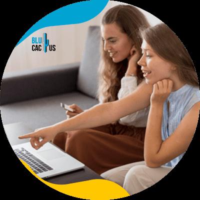 BluCactus - personas trabajando juntos