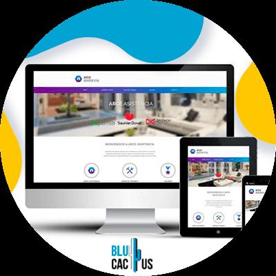 BluCactus - Diferencias entre una landing page y un sitio web - computadora
