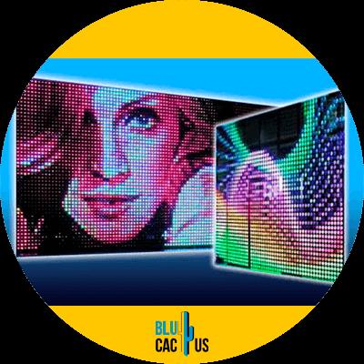 BluCactus - Beneficios de pantallas Led exteriores para tu negocio - ejemplo de pantalla led