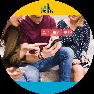 BluCactus - audiencia en redes sociales - personas usando redes sociales