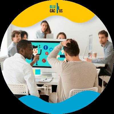 BluCactus - Marketing digital para principiantes - personas profesionales trabajando