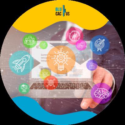 BluCactus - Marketing digital para principiantes - coomputadora con analisis