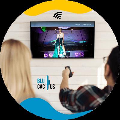 BluCactus - ipad con un evento