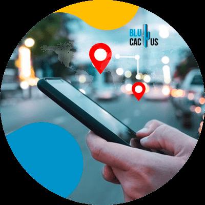 BluCactus - celular con informacion importante