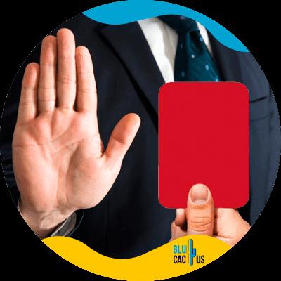 BluCactus - Checklist de SEO On Page - tarjeta roja