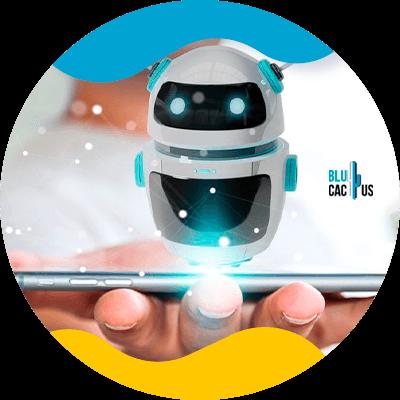 BluCactus - Estrategias de marketing para la industria financiera - robot