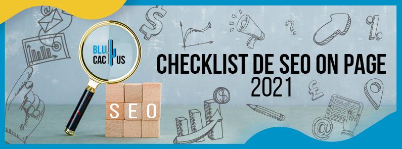 BluCactus - Checklist de SEO On Page 2021 - title