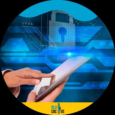 BluCactus - tendencias de Marketing para empresas de seguros - persona con un celular