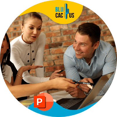 BluCactus - ¿Cuánto cuesta una presentación de PowerPoint? - personas felices trabajando