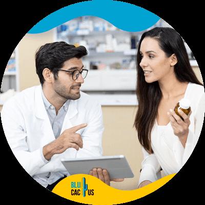 El sector farmacéutico también necesita marketing - mujer profesional