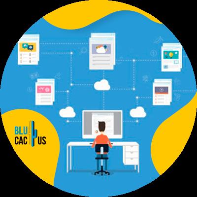 BluCactus - ejemplo de tecnologia con información importante